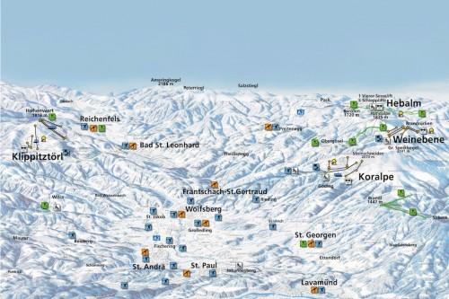 Skigebiet Lavanttal Kaernten