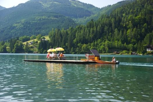 Ausflugsboot Weissensee Kaernten