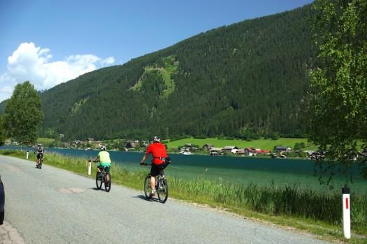 Radfahren Weissensee Kaernten