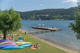 Strandbad in Millstatt